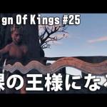 Reign Of Kings 実況 #25 リアルマインクラフトに挑戦 「裸の王様になる」[ゲーム実況byアフロマスク]