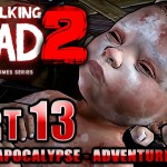 #13【ウォーキングデッド:シーズン2】赤ちゃん誕生!繋がれる新たな命【The Walking Dead:Season2】【PS4/日本語版】[ゲーム実況by癒しのあいろん雑学ゲーム実況]