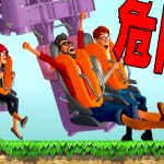 足が地面に着くジェットコースターが怖すぎる鬼畜遊園地 – Planet Coaster 実況プレイ[ゲーム実況byポッキー]