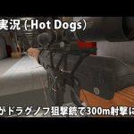 素人がドラグノフ狙撃銃で300m射撃に挑戦 【 VR 実況 ( Hot Dogs, Horseshoes & Hand Grenades ) 】[ゲーム実況byアフロマスク]