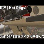 素人がM107A1対物ライフルを使ってみた 【 VR 実況 ( Hot Dogs, Horseshoes & Hand Grenades ) 】[ゲーム実況byアフロマスク]