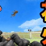 ライオンの打ち上げ花火!?戦車と恐竜で巨大サッカーしてみた。- Beast Battle Simulator – 実況プレイ[ゲーム実況byオダケンGames]