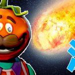 ついに始まったシーズン4!隕石の降った街に降り立つトマト! – フォートナイト[ゲーム実況byポッキー]