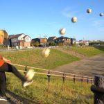 サッカーxゴミ箱 神業集 公園編 | KAMIWAZA (Soccer Football Bin TrickShots)[ゲーム実況byTomohiroGames]