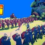 進化した「フニャフニャ君」の戦闘ゲームが面白すぎた Totally Accurate Battle Simulator[ゲーム実況byオダケンGames]