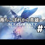 【ACE COMBAT 7】#1 あの空に再び英雄が帰ってくる!【ハード】【フライトスティック縛り】[ゲーム実況byやわやわ]