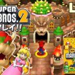 【3DS】Newスーパーマリオブラザーズ2 実況プレイ #4(最終回)【生放送】[ゲーム実況byMOTTV]