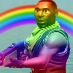 フォートナイトで虹色スキンチャレンジ。[ゲーム実況byマエスケ]