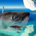 サメとか巨大生物がいる海で『無人島生活』をする。ツッコミどころが多すぎて笑えるゲーム[ゲーム実況byオダケンGames]