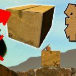 【バカ】ダンボール箱に入ったおっさんが頂上を目指すゲーム【Boxman's Struggle】[ゲーム実況byだいだら]