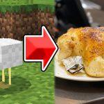 マイクラで出た食べ物だけで1週間生活2日目。人間は生きているのではない。生かされている。感謝。【帰宅部トリオ】【マインクラフト・Minecraft】[ゲーム実況byきおきお]