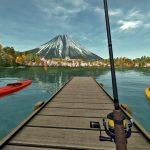 日本の風景が再現された釣りシミュレーターで富士山を眺めながら巨大魚を狙う【アフロマスク】[ゲーム実況byアフロマスク]