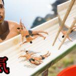 正気の沙汰じゃない『マッチョで流しそうめん』をする日本の方が作ったゲームがぶっ飛んでる[ゲーム実況byオダケンGames]