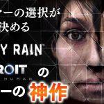 ネタバレ禁止【HEAVY RAIN】デトロイトのメーカーの神作!選択によって結末が変わるシネマアドベンチャー[ゲーム実況byBelle]