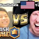 【クラロワ】世界の大物YouTuber「Ash」とガチBO5してみた。【clash royale Ash】[ゲーム実況byきおきお]