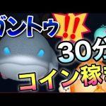 【ツムツム】ガントゥ30分コイン稼ぎ![ゲーム実況byツムch akn.]