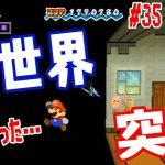 【お店の表示がめちゃくちゃw】マリオは裏の世界へ行ってしまいました【スーパーペーパーマリオ実況 #35】[ゲーム実況bygames tuthinoko]