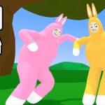 【神ゲー】鬼畜すぎるウサギのバカゲー「Super Bunny Man 」が面白すぎて爆笑した。【スーパーバニーマン#1】【なうしろ】[ゲーム実況byなうしろ]
