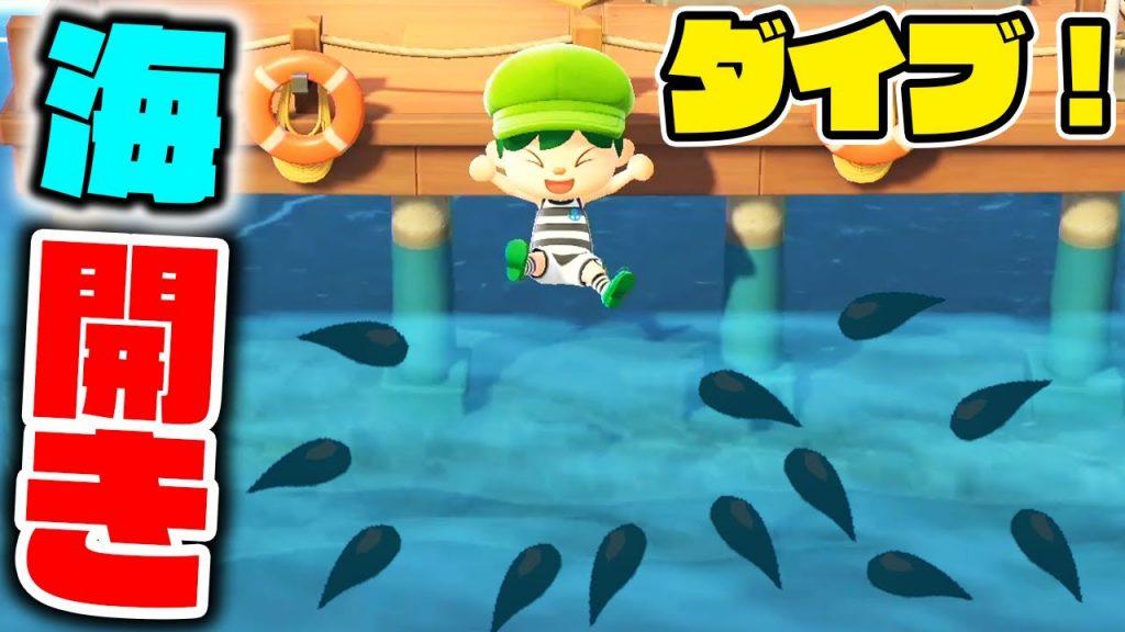 の 島 あつ 森 サメ